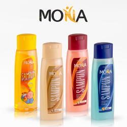 Shampoo wholesale for export from Turkmenistan | Mona household goods