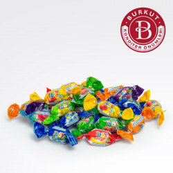 Chewing candy Made in Turkmenistan | Burkut confectionery factory
