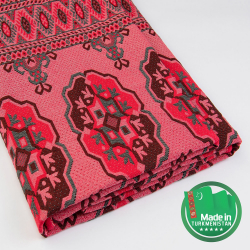 Oriental traditional coverlet Made in Turkmenistan | Kerwenler individual enterprise