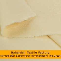 Raw cotton fabric - Cretonne | Baherden textile factory named after Saparmurat Turkmenbashi the great